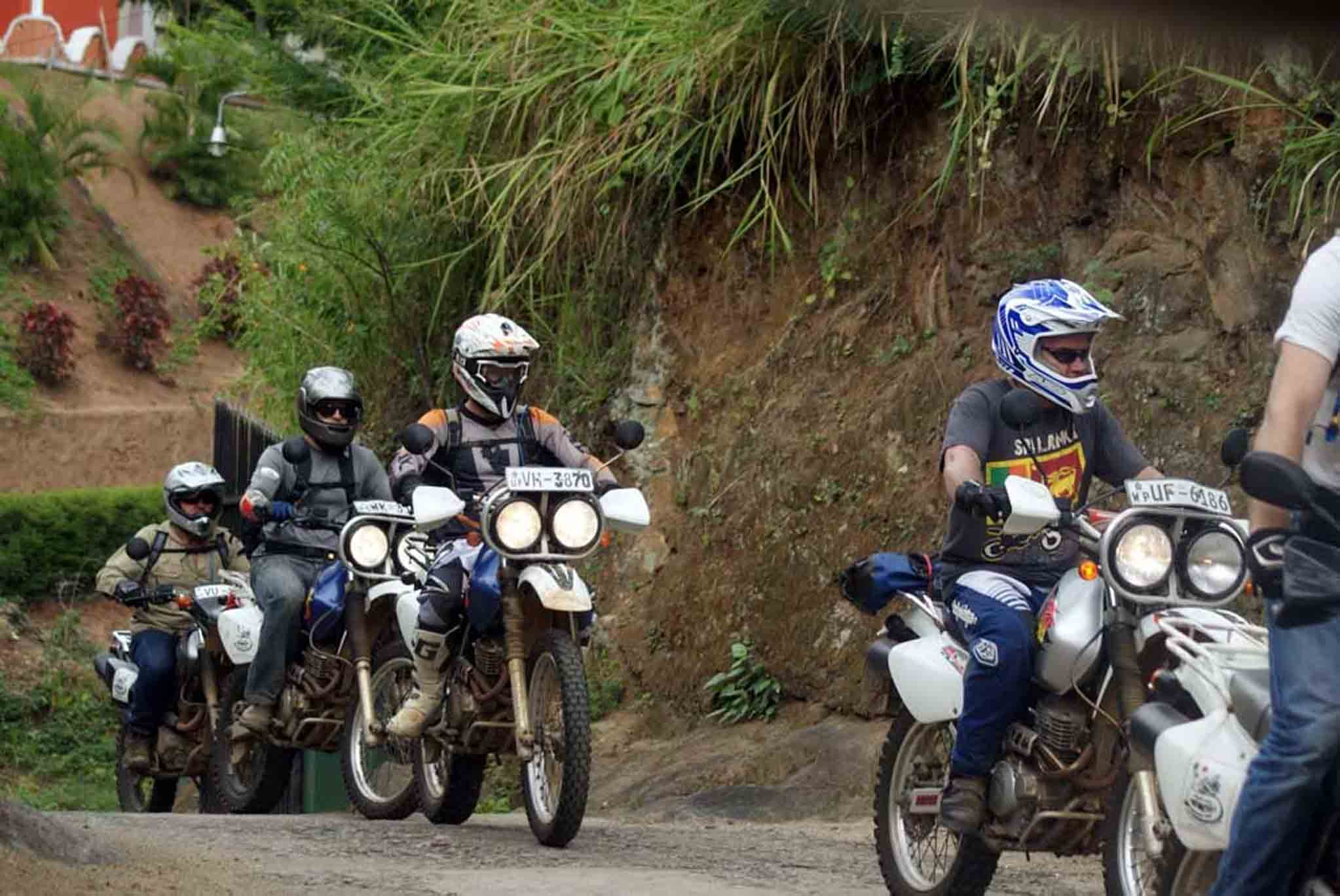 Lanka group riding